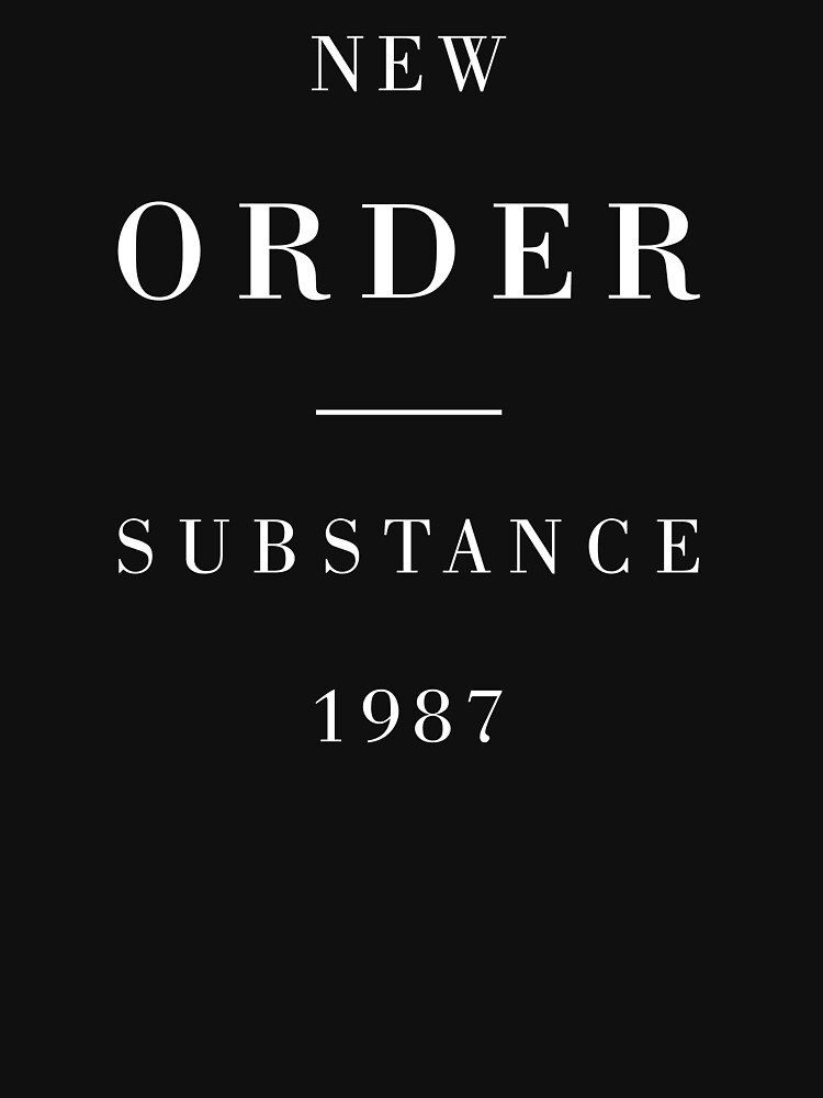 New Order Substance by DesignsULove