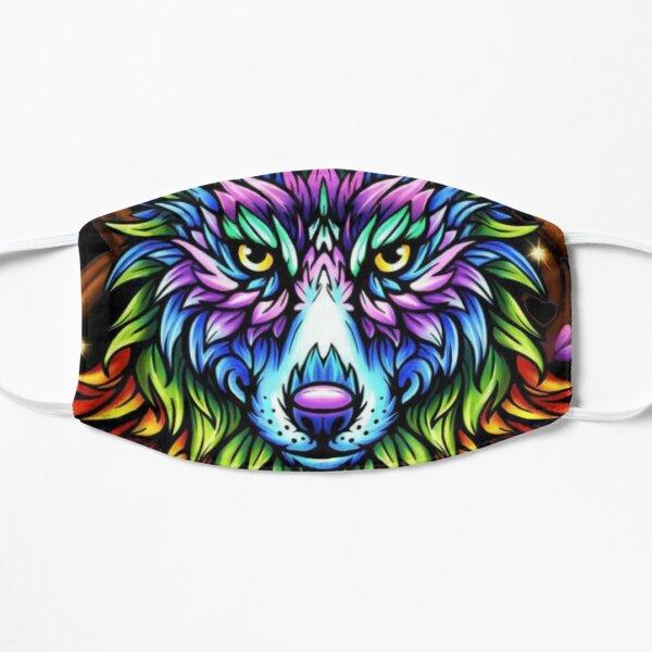 RAINBOW WOLF  Mask