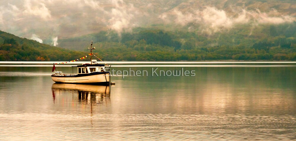 Sailing on Loch Lomand by Stephen Knowles