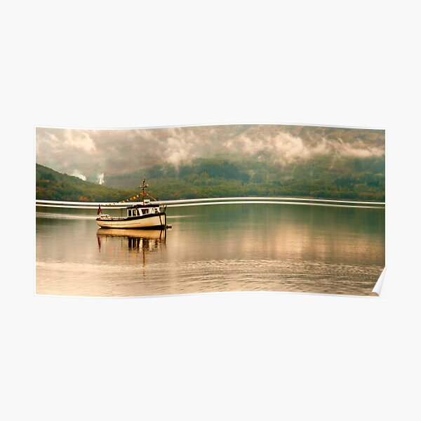 Sailing on Loch Lomand Poster
