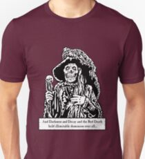 The Red Death (Full Print)  Unisex T-Shirt