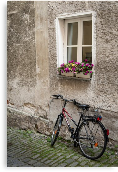 Passau: The Bicycle by Jacinthe Brault
