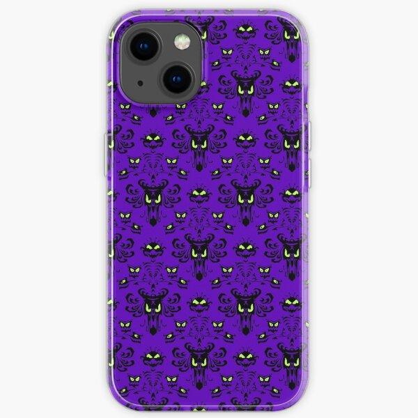 Happy Haunted Wallpaper  iPhone Soft Case