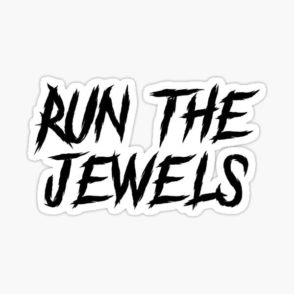 Run The Jewels White Sticker