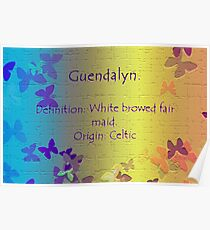 By Definition:  Guendalyn Poster