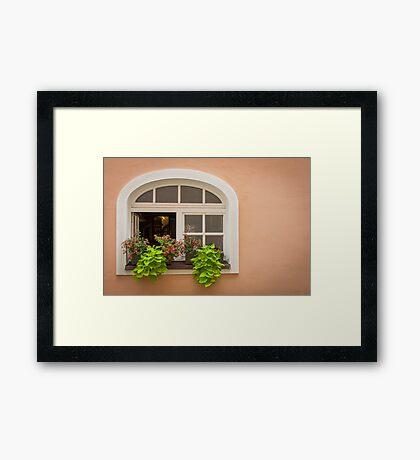 Passau: The Window Framed Print