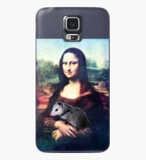 Mona Lisa with Possum Case/Skin for Samsung Galaxy
