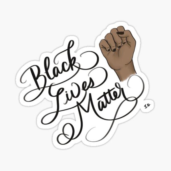 Black Lives Matter Fist  Sticker