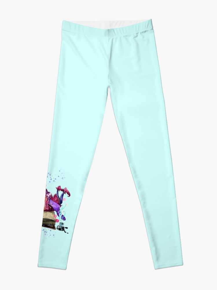 Alternate view of Airapippen The Author Fairy In Turquoise™ Leggings
