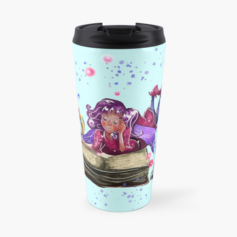 Airapippen The Author Fairy In Turquoise™ Travel Mug