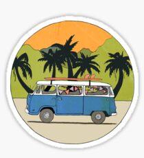 Aussie Road Trip Sticker