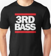 3rd Bass in the style of Run-D.M.C. T-Shirt