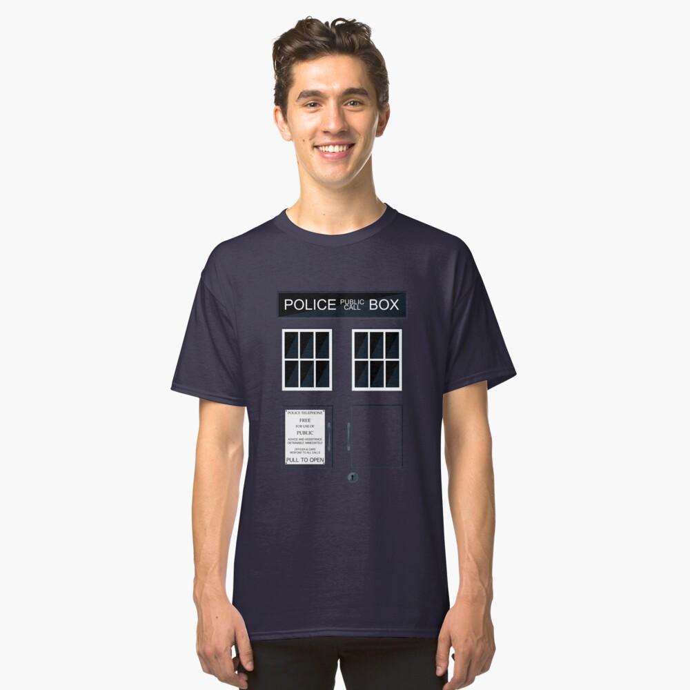 Police Box Tardis T-shirt Unisex