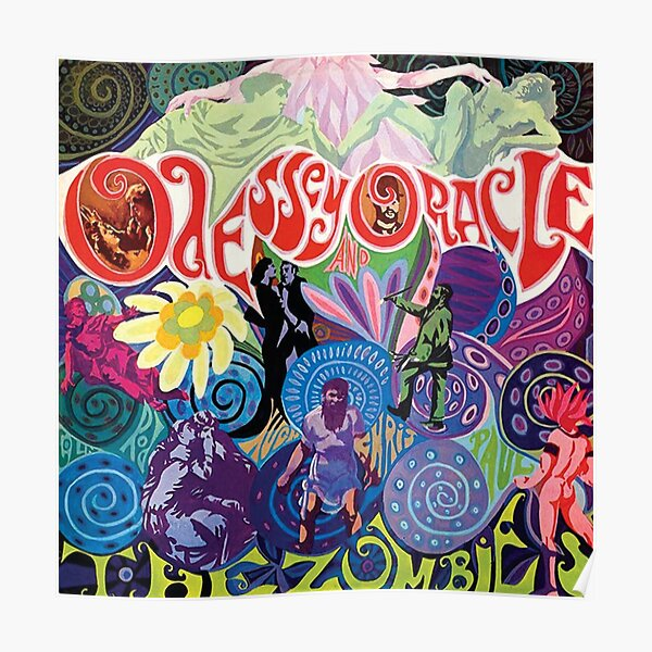 The Zombies Odessey And Oracle Poster