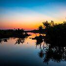 Ivanhoe Sunset  by David Haworth