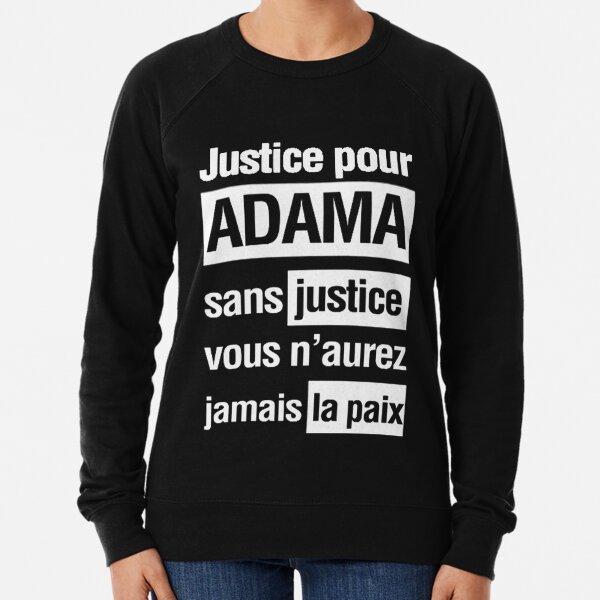 justice pour adama  Lightweight Sweatshirt