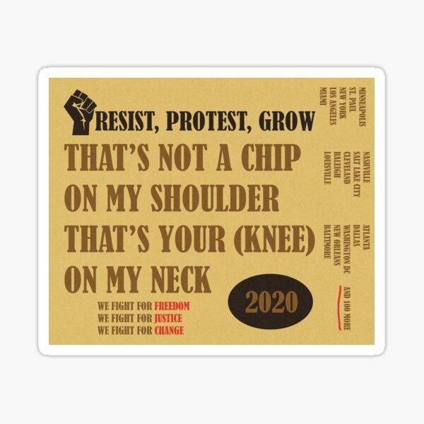 Protest 2020 Sticker