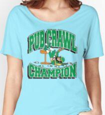 Irish Pub Crawl Champion Women's Relaxed Fit T-Shirt
