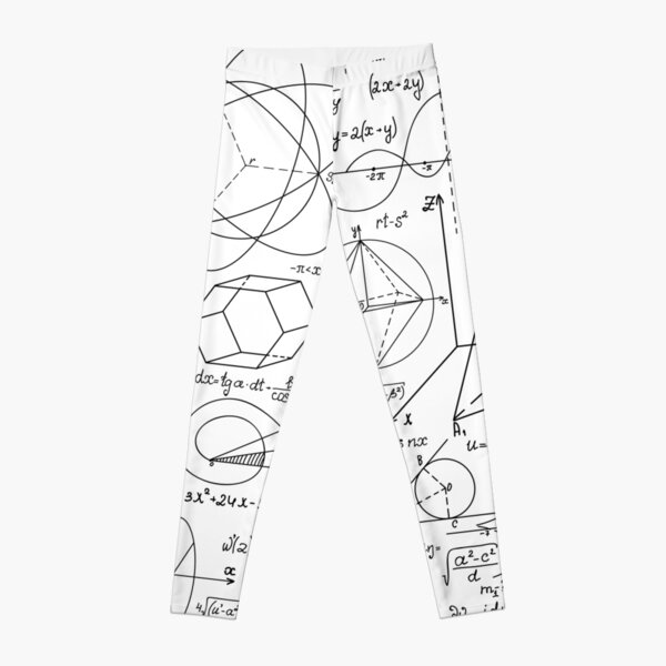 Math Equations #Math #Equations #MathEquations Leggings