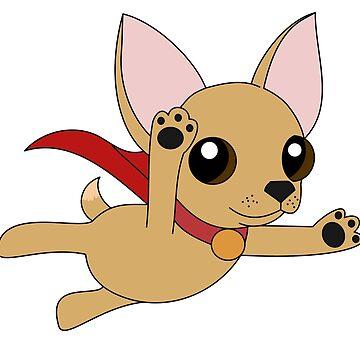 Super Chihuahua! by Iceyuk