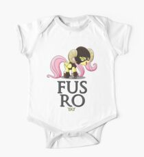 FUS RO yay (My Little Pony: Friendship is Magic) One Piece - Short Sleeve