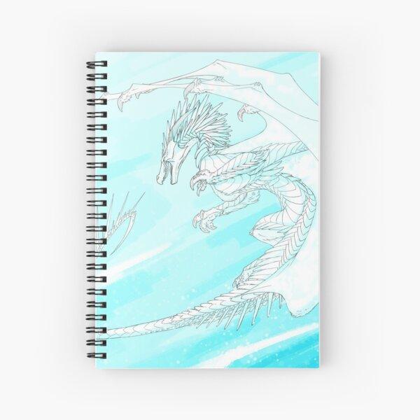 IceWing in Flight Spiral Notebook