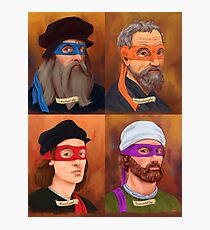 The Renaissance Ninja Artists Photographic Print