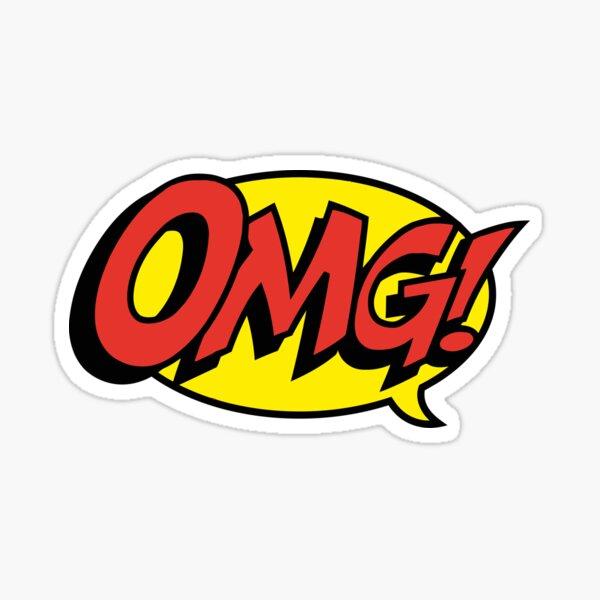 OMG Sticker