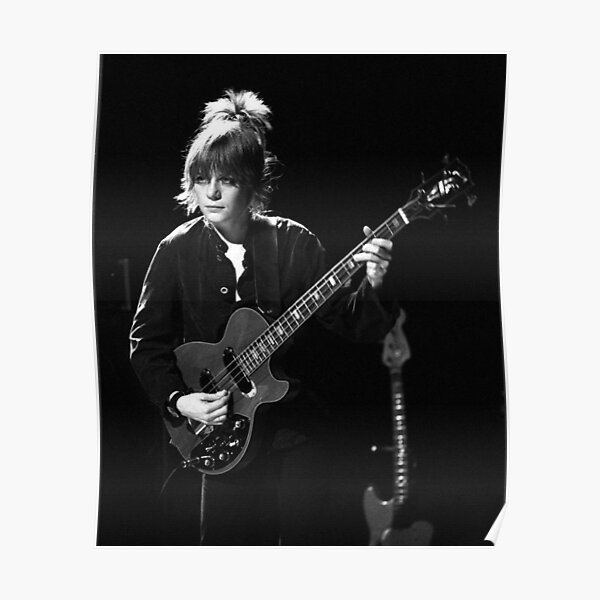 Tina Weymouth of the Talking Heads Poster