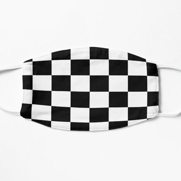 Ska Music Black and White Check Socks Flat Mask