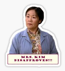 DISAPPROVES!!! Sticker
