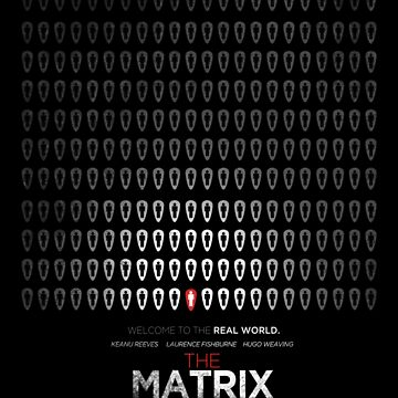 Minimalist Poster : Matrix by Squall234
