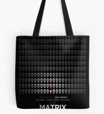 Minimalist Poster : Matrix Tote Bag