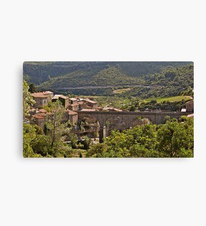 Viaduct to Minerve Canvas Print