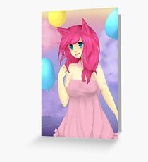 Pinkie Pie Greeting Card