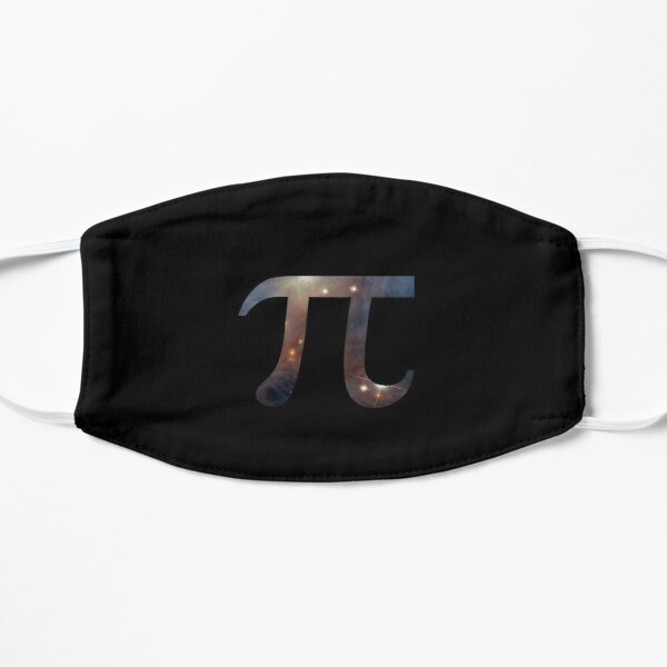 Celestial Pi - 3.1415926536 T-shirt - π Math Piphilology Clothing Mask