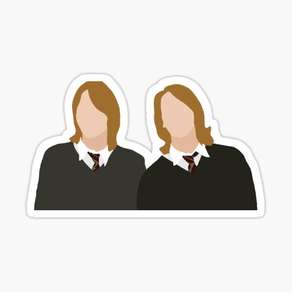 The Twins Sticker