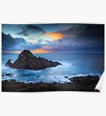 Sugarloaf Rock Poster