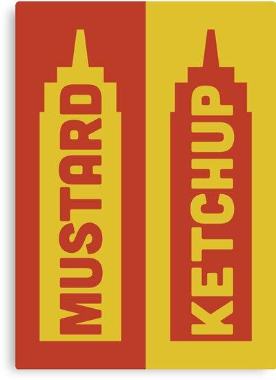 Ketchup, Mustard by Stephen Wildish