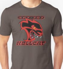 Hellcat - Red & Black Unisex T-Shirt