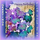 Birthday Greetings from Both of Us   by Angele Ann  Andrews