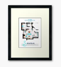 Seinfeld Apartment v2 Framed Print