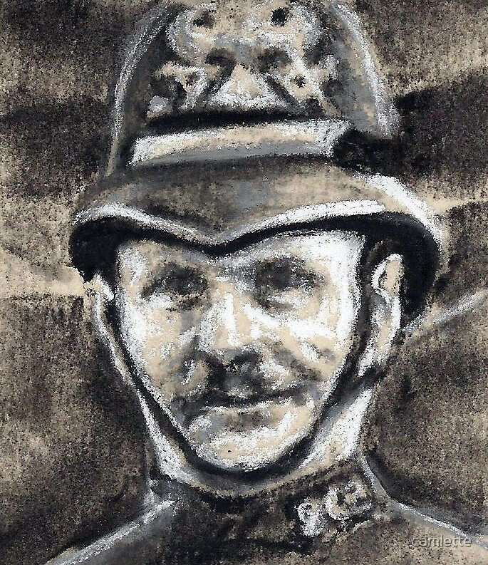 Altered, PC George Henry Hutt by Cameron Hampton