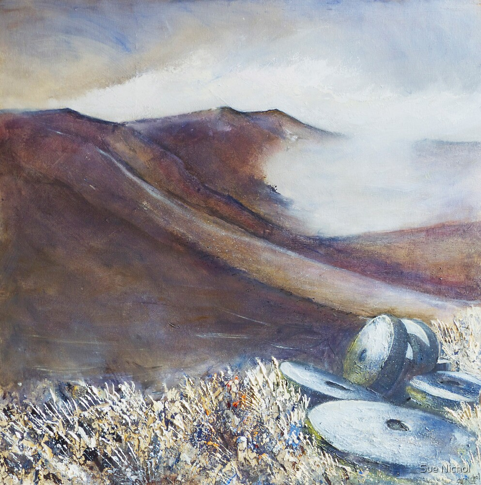 Grindstones, Stanage Edge by Sue Nichol