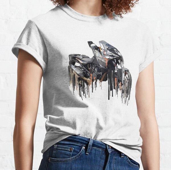 Awesome KTM Adventure Liquid Metal Art Classic T-Shirt