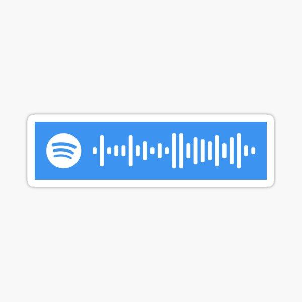 American Teen Spotify Scan Code Sticker
