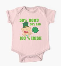 Irish Baby One Piece - Short Sleeve