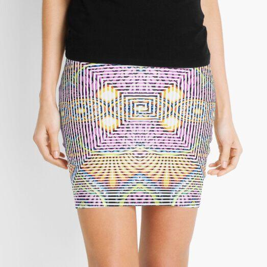 Longboard, Psychedelic art Mini Skirt