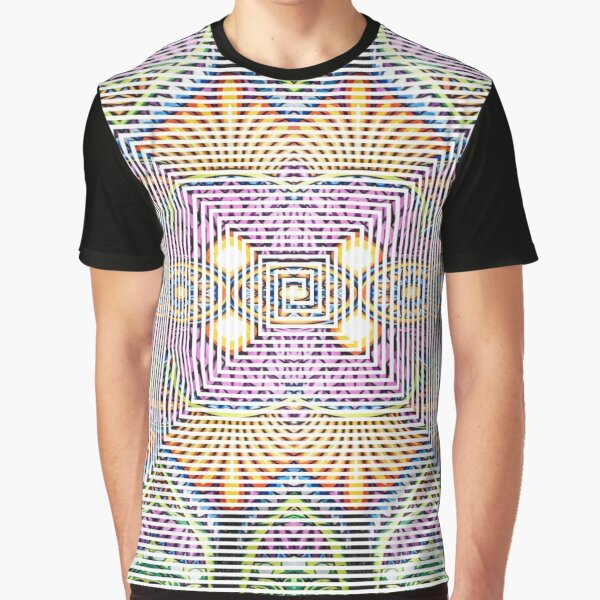 Longboard, Psychedelic art Graphic T-Shirt