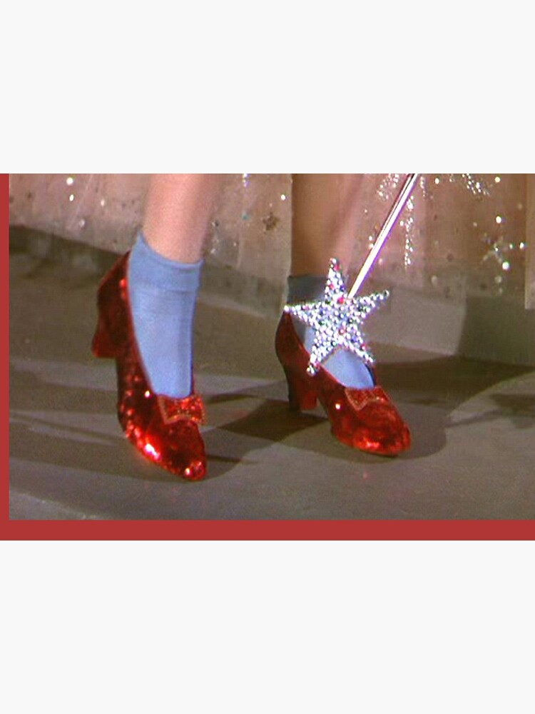 Dorothy red shoes by vintagelovers